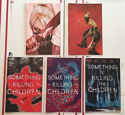 SOMETHING IS KILLING THE CHILDREN #1 Covers A - B - Frison -2nd Print -3rd Print