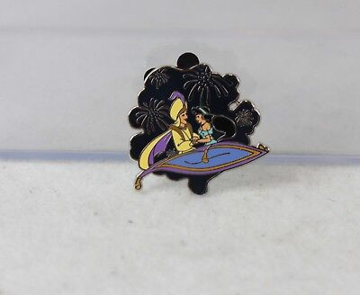 Disney Parks Pin Attractions Mystery 115791 Aladdin Princess Jasmine