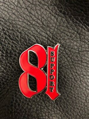 SUPPORT 81 WORLD NOMADS PIN Angels HELLS PIN BADGE Christmas Present 1% Bikers