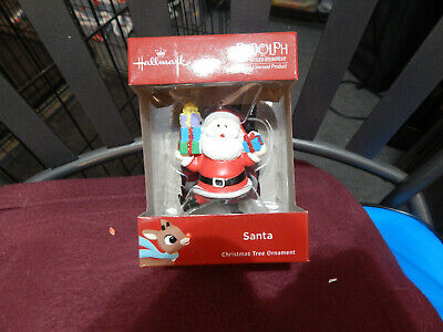 Hallmark Rudolph the Red-Nosed Reindeer Ornament-Santa