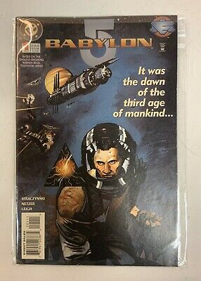 Babylon 5 It Was The Dawn Of The Third Age Of Mankind DC Comics Jan 1995 Issue#1