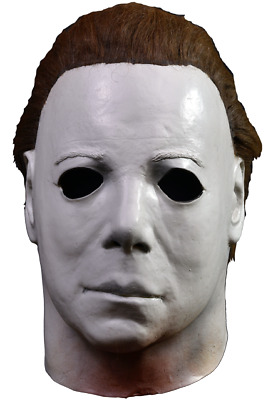 Halloween ll Michael Myers Elrod Trick or Treat Studios Latex Deluxe Mask NEW