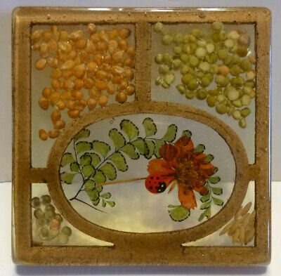 Vintage lucite resin acrylic collection, 12 pieces, trivets, spoon rests, more