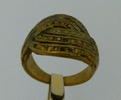 Rare Extremely Ancient Roman Old Ring Bronze Artifact Museum Quality