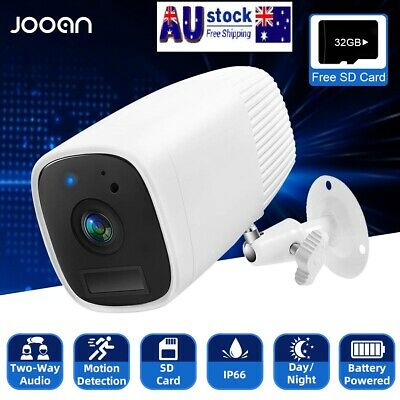 HD 1080P Outdoor IP66 Rechargeable Battery Wireless Security IP Camera Home CCTV