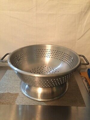 Commercial Aluminum Colander Strainer 11QT - NSF#1511-Made In USA