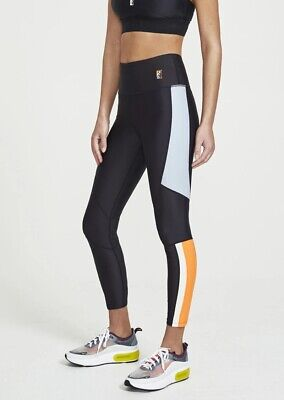 Pe Nation Womens Alpine 7/8 length Tights Fitness Compression Sports Yoga SZ M