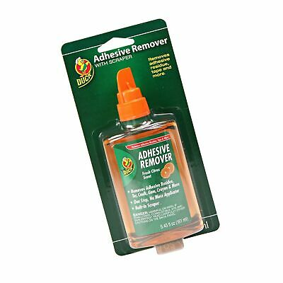 Duck Products - Duck - Adhesive Remover, 5.45 oz. Spray Bottle - Sold As 1 Ea...