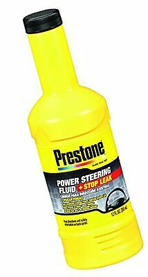 Prestone AS262 Power Steering Fluid with Stop Leak - 12 oz. Pack of 1 12 oz.