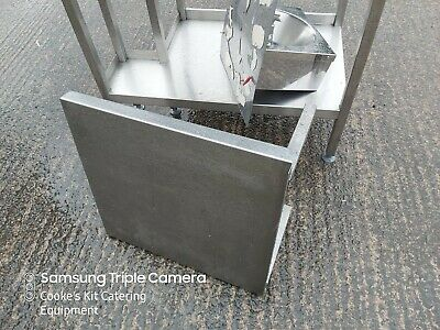 Stainless Steel Catering Heavy Duty Microwave Wall Shelf