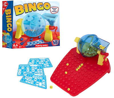 Hti Bingo And Lotto Set Board Game - 1374307 Traditional Family Toy Classic Ball