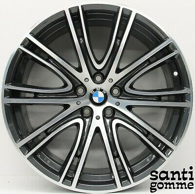 4 Jantes en Alliage 20'' BMW S 5 G30 G31 8053501 8053502 Anthracite Diamant