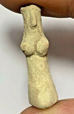 Near Eastern Indus Valley Fertility Terracotta Idol Small Statue Circa 1900 Bc