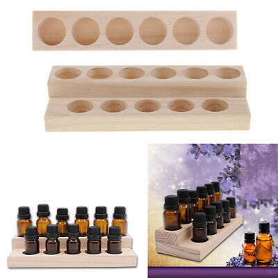 4 Sets Essential Oil Storage Case Display Stand Aromatherapy Oil Rack Holder