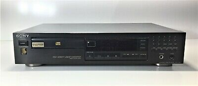 Sony Cdp-295 Component Hi-Fi Cd Player Compact Disc Player | Working