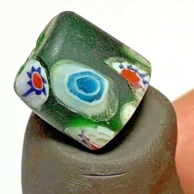 FANTASTIC -  PHOENICIAN GLASS COLORED GLASS BEAD VERY NICE  4.4gr 12mm