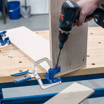 90 Degrees Right Angle Kreg KHCCC Corner Clamp ''T'' joints Woodworking Clamping