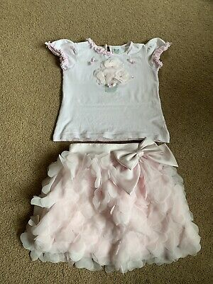 Sarah Louise Pink Skirt & Top Set, Age 6