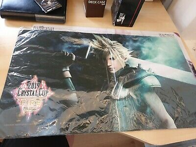 1x crystal cup fire CLOUD playmat