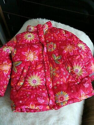 Girls H&M Winter Coat, Size 5/6yrs