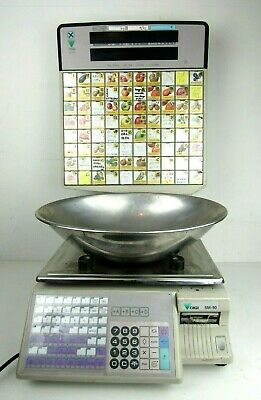 Digi SM90S Digi SM-90 Printing Scale Printer Meat Deli Bakery Fruits