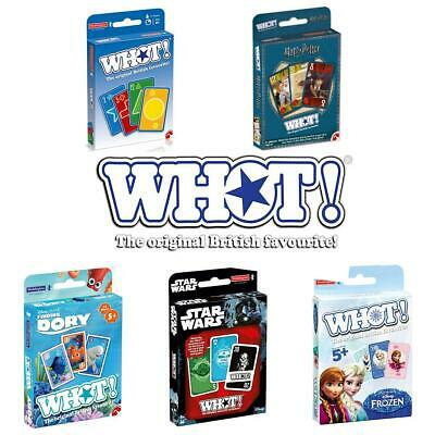 WHOT! Waddingtons Fast-Moving Card Game - Brand New direct from the Manufacturer