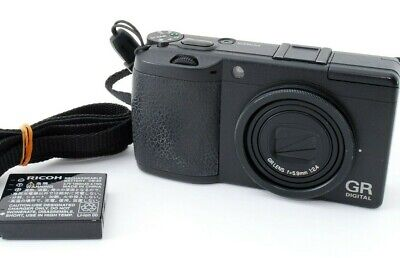 Ricoh GR Digital II 10.1MP Digital Camera with strap Tokyo From Japan Excellent+