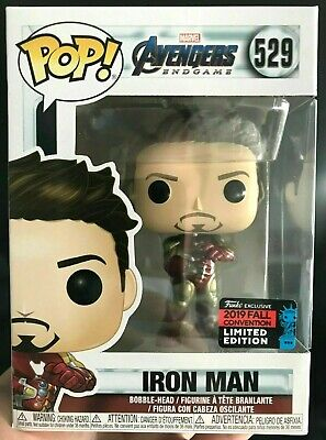 Funko Pop Iron Man Nycc Gauntlet Tony Stark Shared Comic Con Exclusive *In Hand*