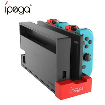PG-9186 Controller Charger Charging Dock Stand for Nintendo Switch Joy-Con CZ