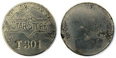 Star  Store,  The  New Bedford, Ma   Credit   Charge Coin    Tyl #  Ma-550-Staa