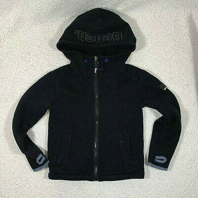 Boys Branded SoulCal Casual Fleece Knitted Cuffs 2 Zip Bubble Jacket 7-13 Yrs