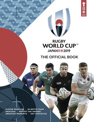 Japan 2019 Official Rugby Union World Cup Programme - In Stock Now - Mint.