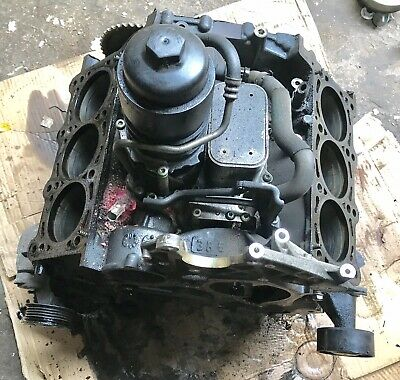 Audi Q7 4L 3.0 Tdi Diesel Bug Bare Engine Block