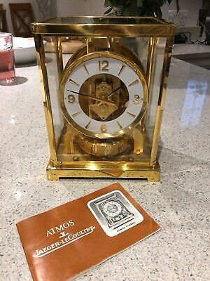 Jaeger leCoultre atmos clock Made In 1980's Fantastic Condition