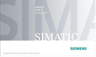 SIEMENS Step 7 V5.5 professional 2010  PROGRAMMING SOFTWARE