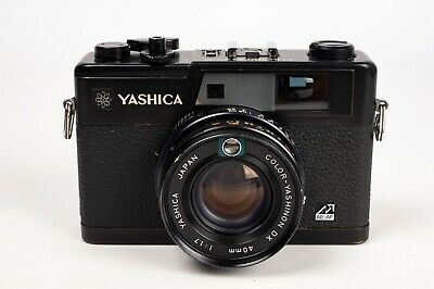 Yashica Electro 35 Gx  + Color Yashinon DX 40MM 1:1,7 - NEW SEALS