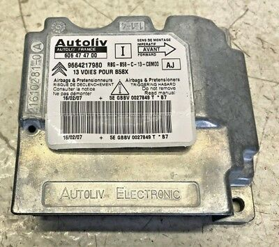 DRIVES AIRBAG 96866504ZD 2007-13 CITROEN C4 PICASSO MK1