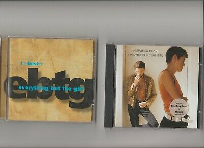 Everything But The Girl : Amplified Heart + The Best Of  / TWO CD Albums