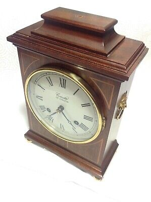 Very fine antique Mantle Clock Comitti Of London striking mechanical movement