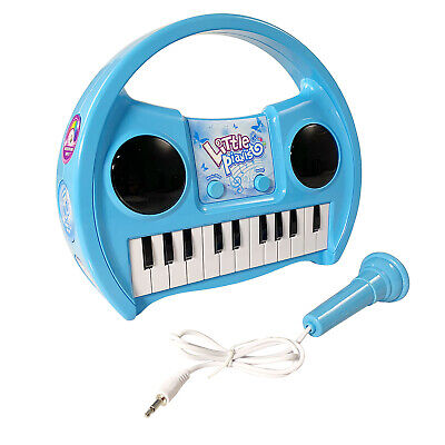 KidPlay Karaoke Keyboard - Blue