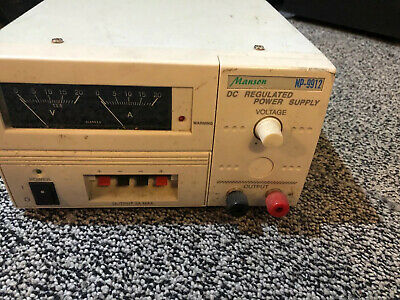 Manson NP-9912 DC Regulated Power Supply