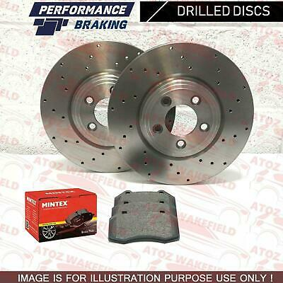 HONDA ACCORD 2.2 TYPE R 98-01 Drilled /& Grooved Sport FRONT Brake Discs Rotors