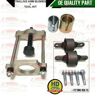 FOR FORD FOCUS MK1 ESATE REAR UPPER TOP TRAILING ARM ARMS BUSHES FITTING BOLTS