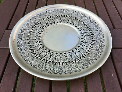 Vintage Benedict Proctor Canada Silver Plated Pierced Plate / Dish, EPNS