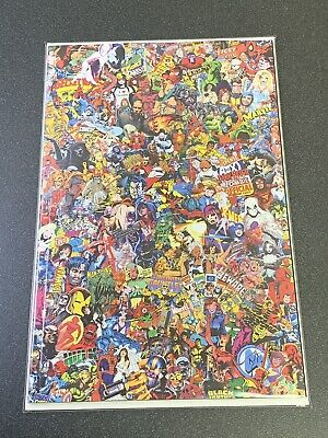 Marvel Comics #1000 Garcin Collage Variant 2019 CASE FRESH 1st Print NM