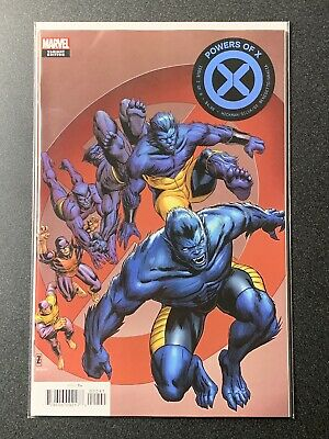 Marvel Comics Powers Of X #2 Decades Variant 2019 CASE FRESH 1st Print NM