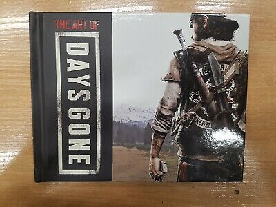 THE ART OF Days Gone artbook book only Collectors Edition uk NO GAME