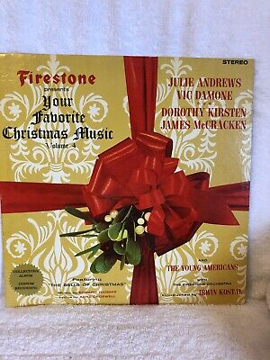 """Firestone """"Your Favorite Christmas Music/Vol 4/Mint Condtion Dj's Collection"""