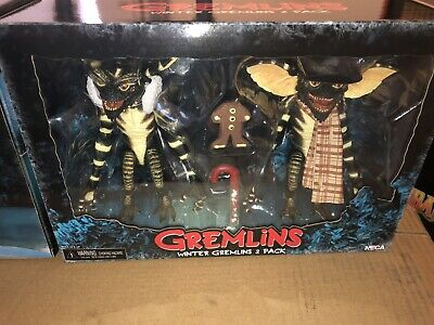 NECA Gremlins 2 Pack Christmas Carol Winter Scene 7 Inch Action Figure In Stock