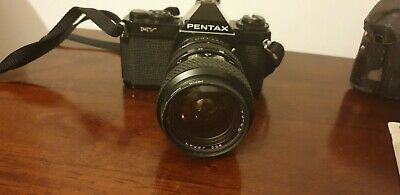 Pentax MV 35mm SLR Film Camera with Tokina SZ-X 35-70mm lens